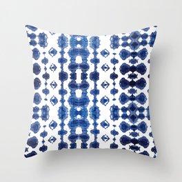Shibori Habatoi Ikat Throw Pillow
