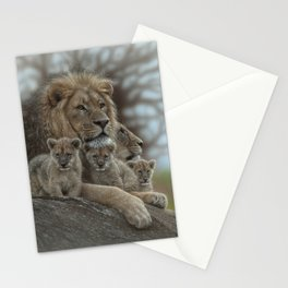 Lion - Family Man Stationery Cards