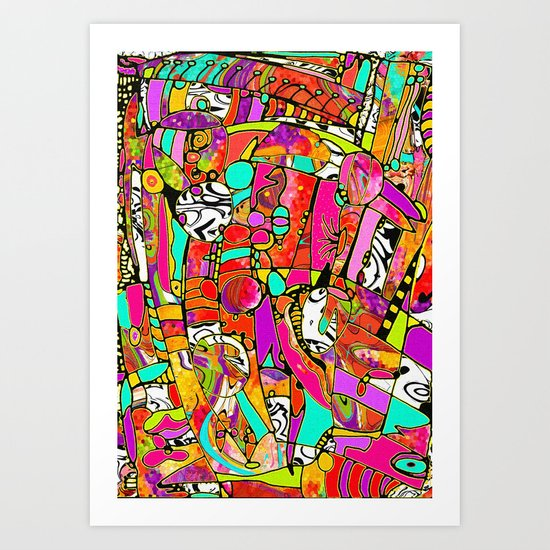 Beautiful Noise Art Print