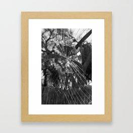 Shattered.  Framed Art Print
