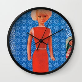 THE EVOLUTION OF BETSY Wall Clock
