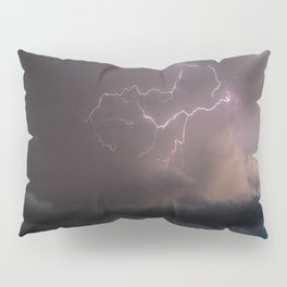 Spring Lightning Pillow Sham