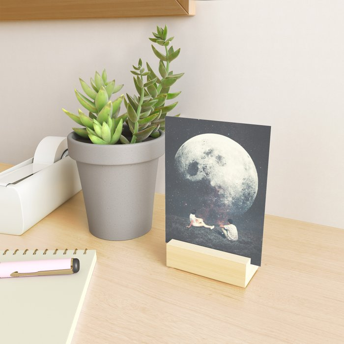 My Moon My Man My Love Mini Art Print