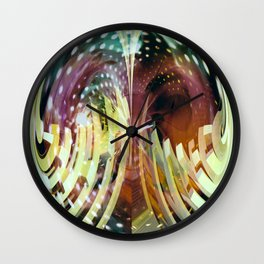 """""""The Future Is Now"""" Wall Clock"""