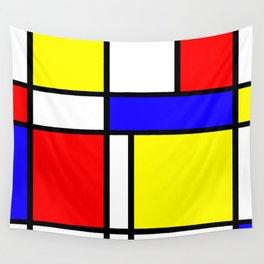 Mondrian 4 #art #mondrian #artprint Wall Tapestry