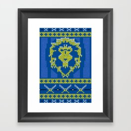 Ugly Sweater 1 Framed Art Print
