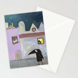 city of cats Stationery Cards