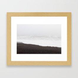 Lingering at the Lost Coast Framed Art Print