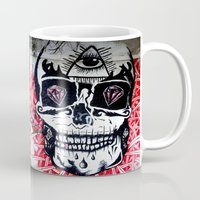 crane Mugs featuring CRANE by lucborell