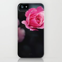 I hate roses iPhone Case