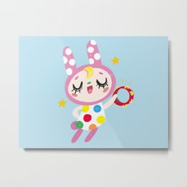 Animal Crossing Chrissy Metal Print