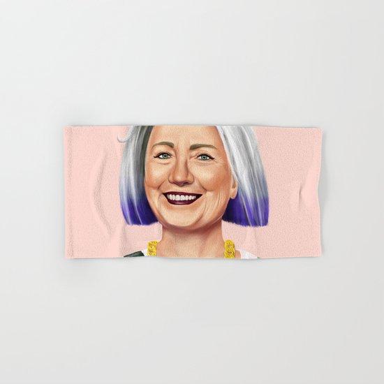 Hipstory - Hillary Clinton Hand & Bath Towel