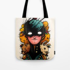 Guardians of the Woods (Color Version) Tote Bag
