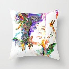 Pigment Throw Pillow