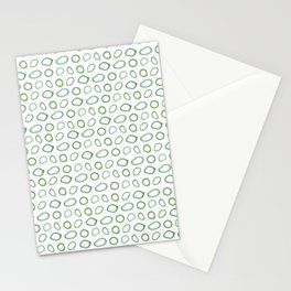 Onion rings pattern Stationery Cards