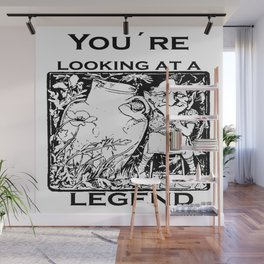 You're Looking At A Legend St Patricks Day Clurichaun Wall Mural