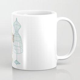Vintage Dressmaker Illustration Coffee Mug