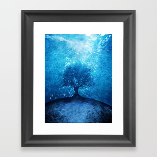 Songs from the sea. Framed Art Print