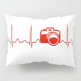CAMERA HEARTBEAT Pillow Sham