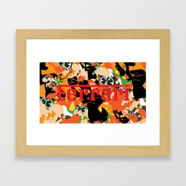 7 deadly sins - Envy Framed Art Print