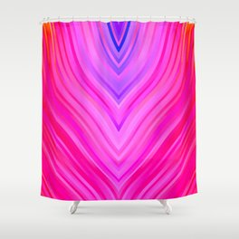 stripes wave pattern 3 sm60i Shower Curtain