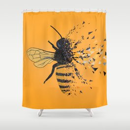 To bee or not to bee Shower Curtain