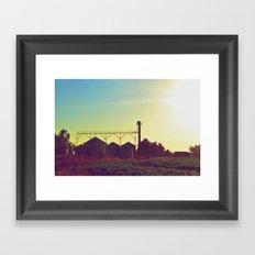 The Silos Framed Art Print