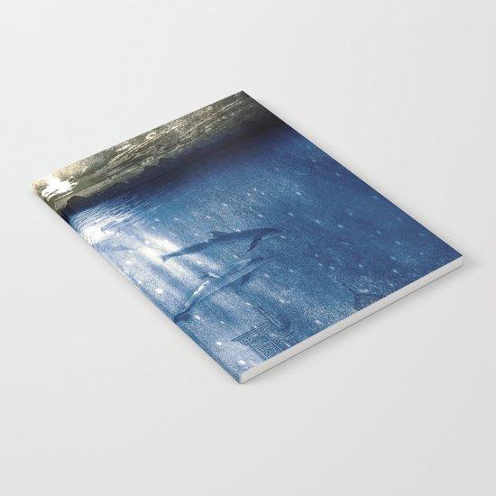 dolphins, civilization. Notebook