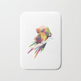 Bird Colorful Variation Bath Mat