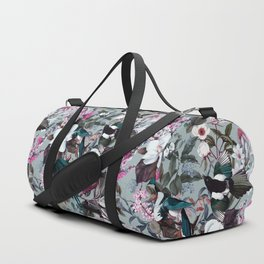 Floral and Birds XXIV Duffle Bag