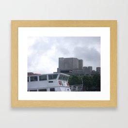 River Tour  Framed Art Print