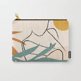 Minimal Line in Nature II Carry-All Pouch