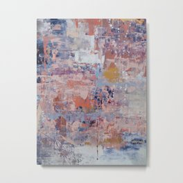 Mirage [3]: a pretty, vibrant mixed-media piece by Alyssa Hamilton Art Metal Print