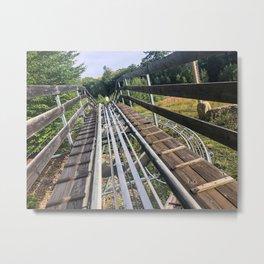 Mountain Coaster (2) Metal Print