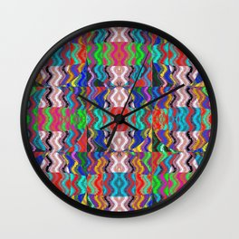 Native Weave 7 Wall Clock