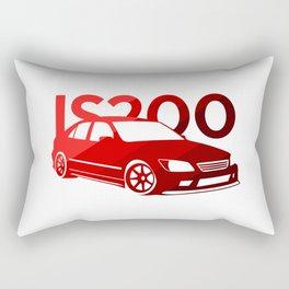 Lexus IS 200 - classic red - Rectangular Pillow