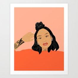 Kehlani Art Print