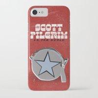 scott pilgrim iPhone & iPod Cases featuring Scott Pilgrim VS The World by Bill Pyle