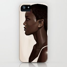 Elf Portrait iPhone Case