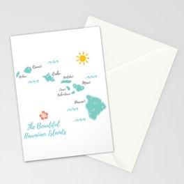 The Hawaiian Islands Stationery Cards