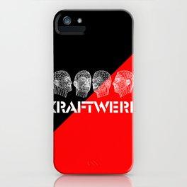 Kraftwerk computer heads iPhone Case