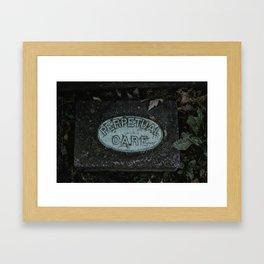 Perpetual Care Framed Art Print