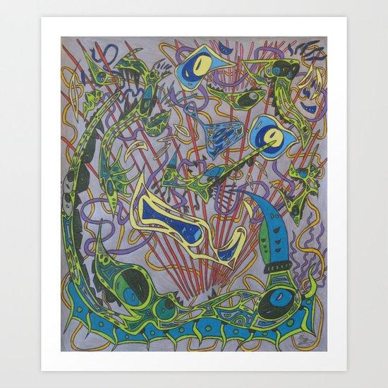The Unconquerable Art Print