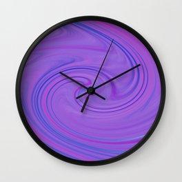 Purple daze 3 Wall Clock