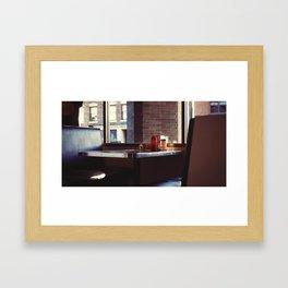 Diner  Framed Art Print