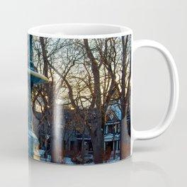 Foutain in Winter Coffee Mug