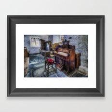 Olde Church Organ Framed Art Print