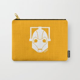 Geek Shirt #1 Cyberman (White) Carry-All Pouch