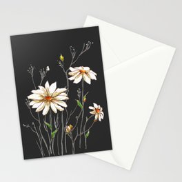 flowers 6 Stationery Cards