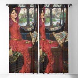 John William Waterhouse Lady of Shalot said Half-Sick of Shadows 1915 Blackout Curtain